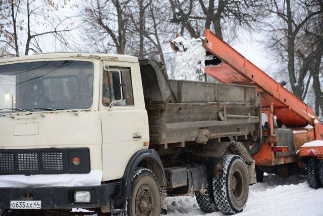 Мотоблок с функцией уборки снега