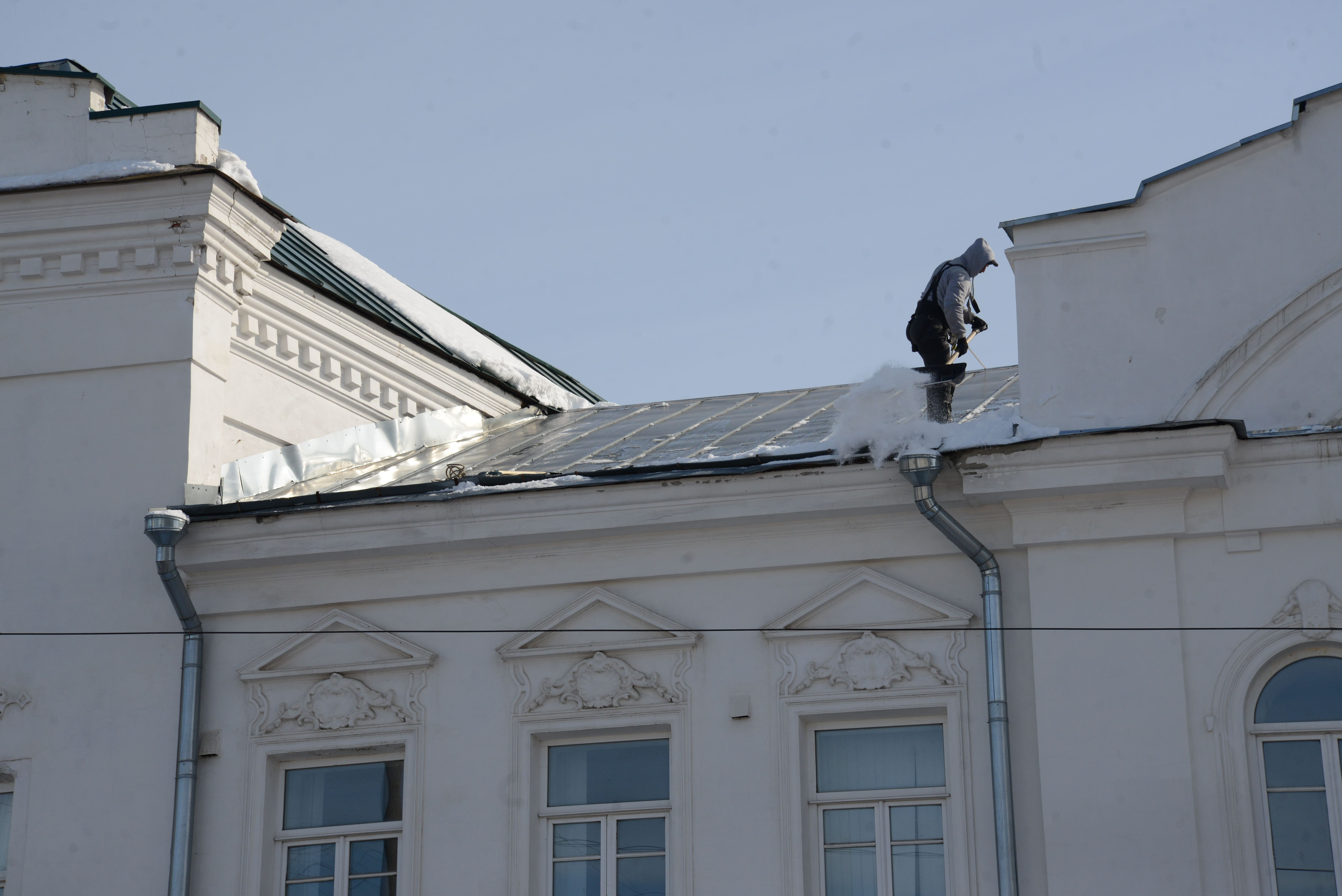 Нормативы очистки крыш от снега