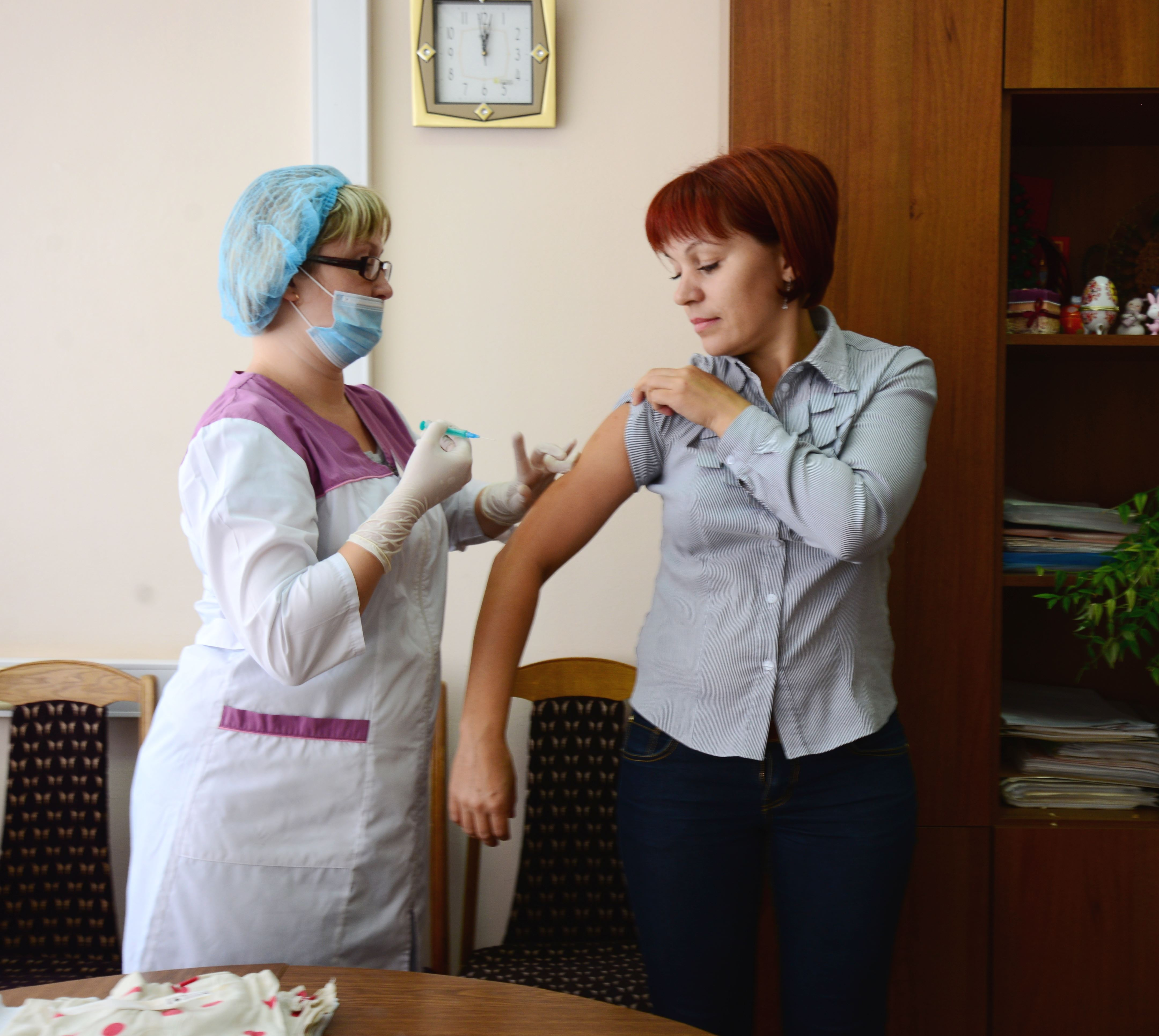 ВУдмуртии началась вакцинация населения против гриппа