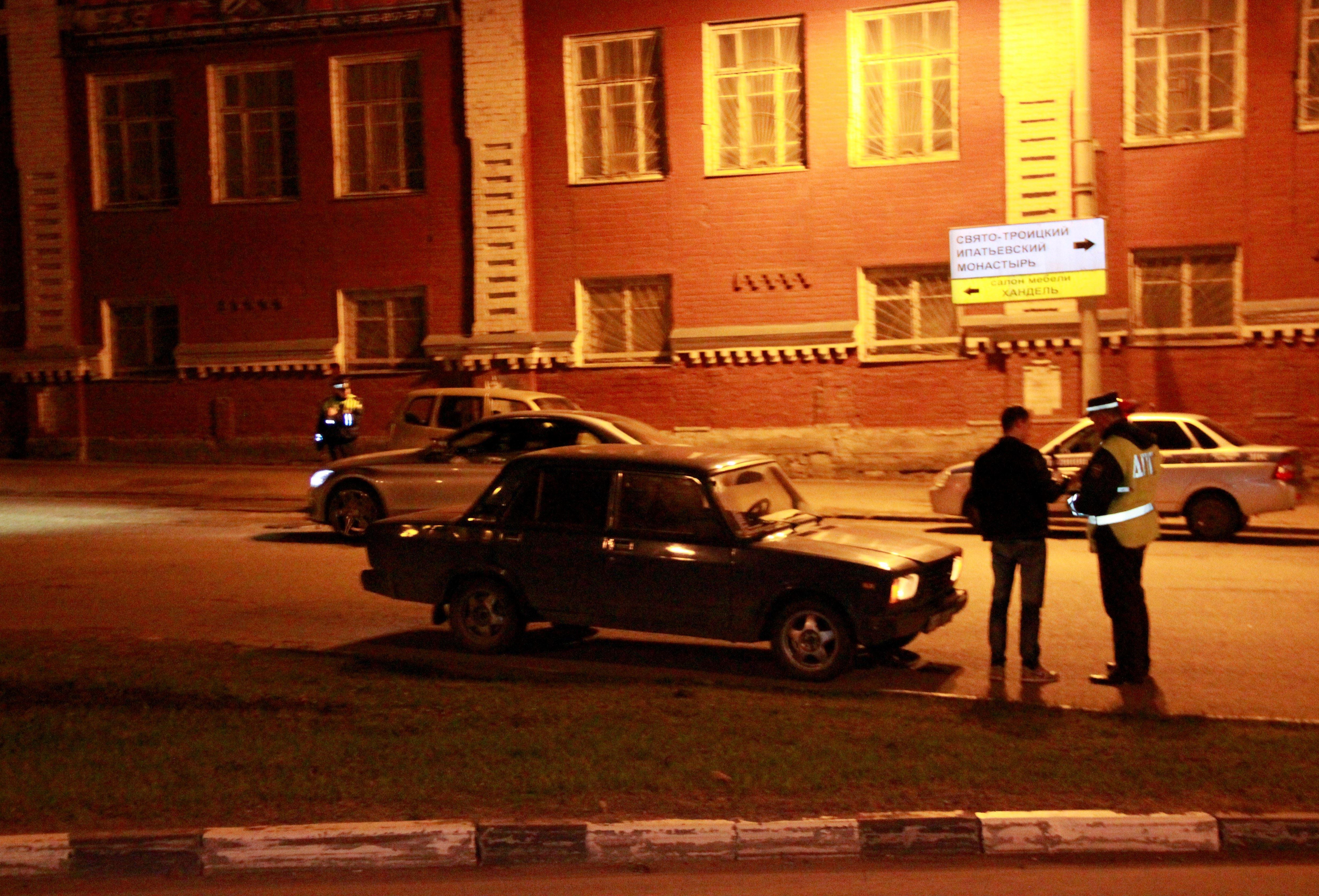 ВСудиславле госавтоинспекция проводит мероприятия поборьбе снетрезвыми водителями