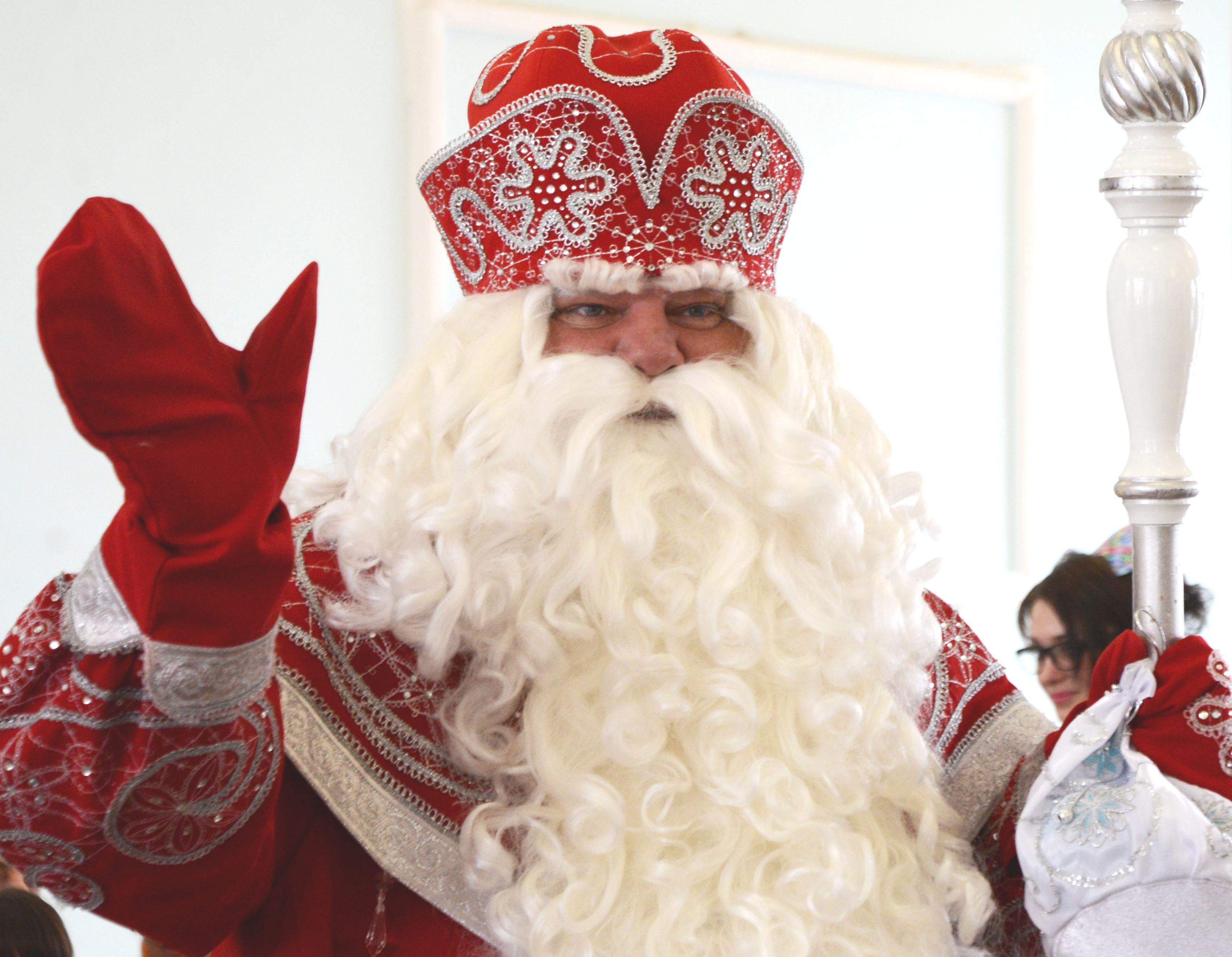 В Калининграде день рождения главного Деда Мороза России отметят под дождём